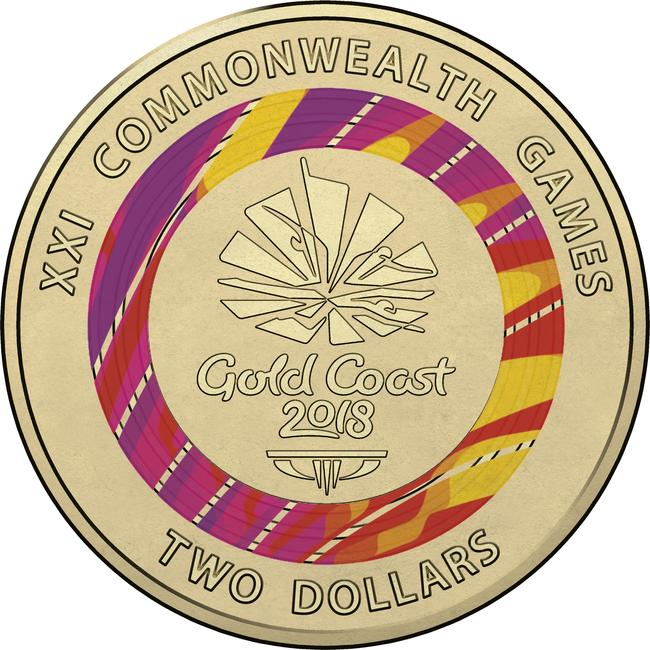 The other $2 coin to be released across Australia. Picture: Supplied