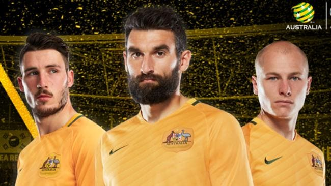 3f4441d0ddf Socceroos new all-gold home playing strip