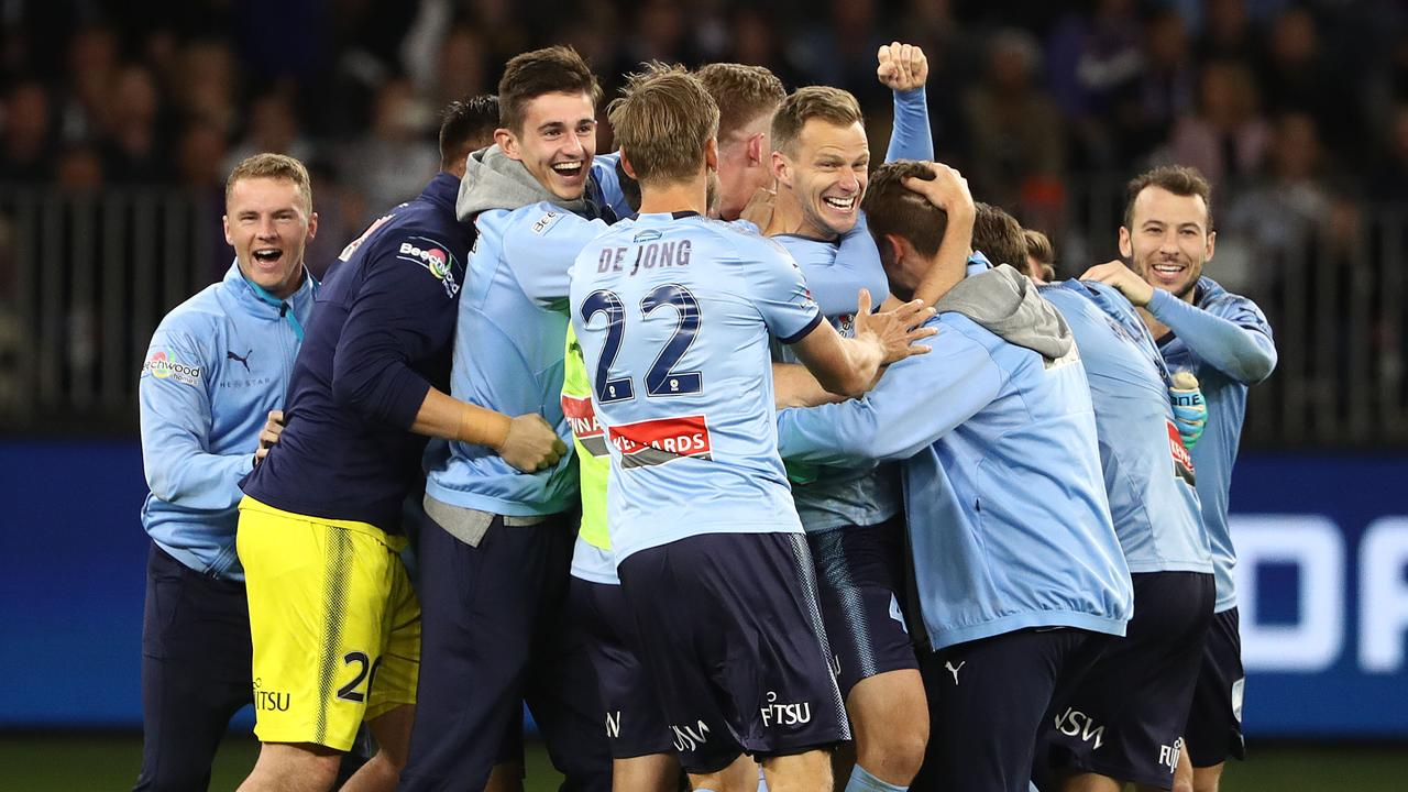 Sydney FC Crowned A League Champions After Winning Penalty