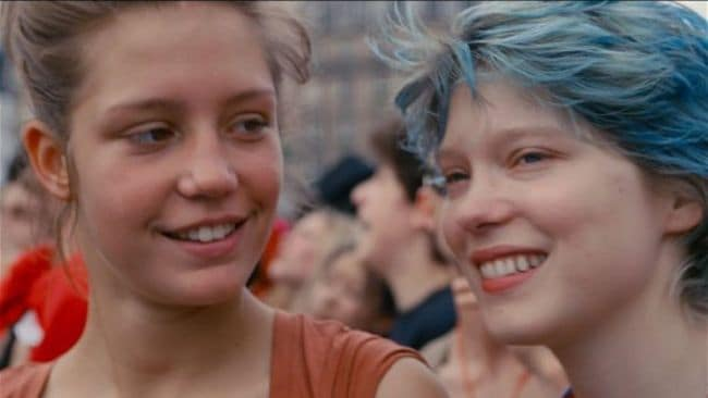The film follows the journey of two young women as they fall in love. Image: Wild Bunch