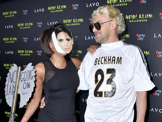 Posh was said to not be impressed with Mel B's Halloween costume last year. Picture: Michael Loccisano / Getty Images