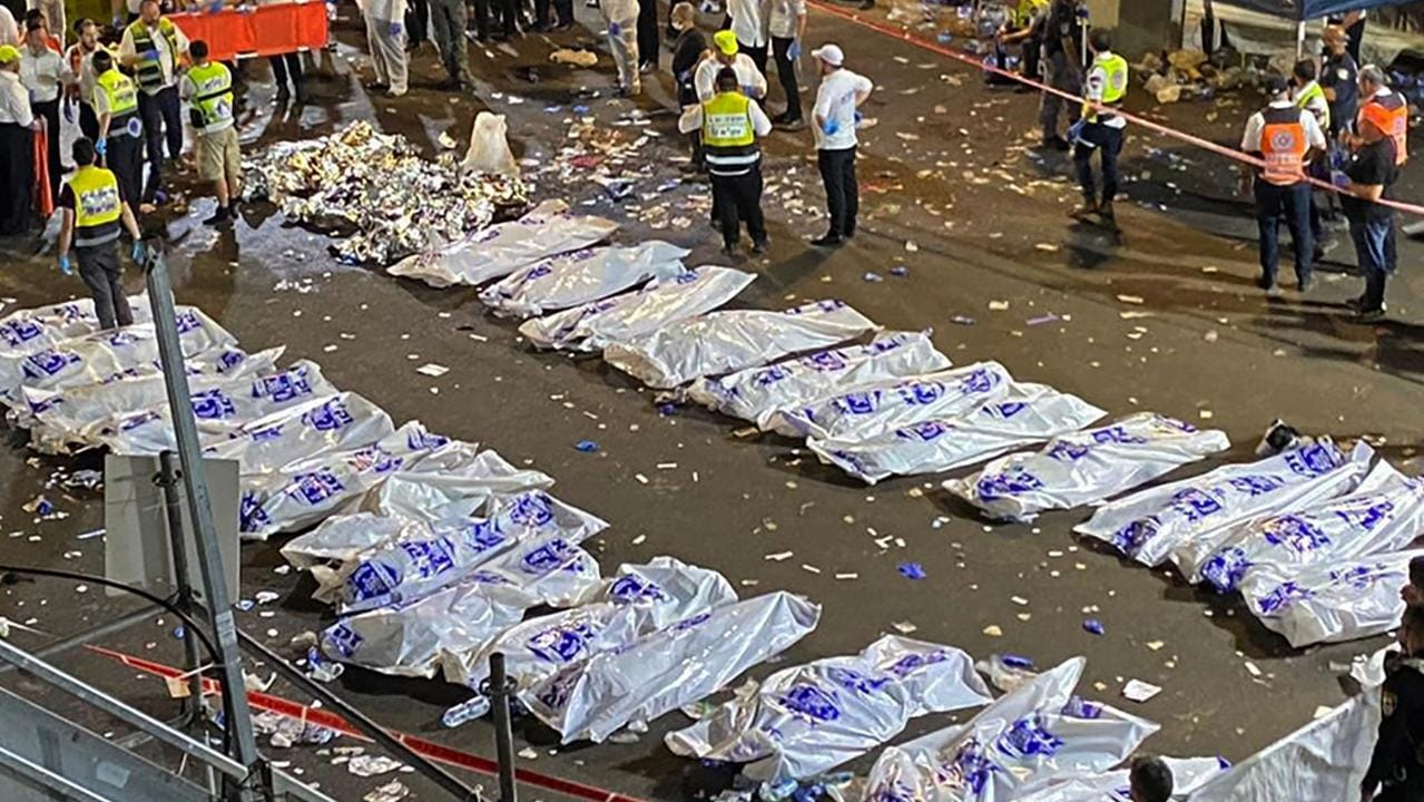 Israel's Prime Minister promises inquiry after stampede at Lag B'Omer kills 45 people – NEWS.com.au