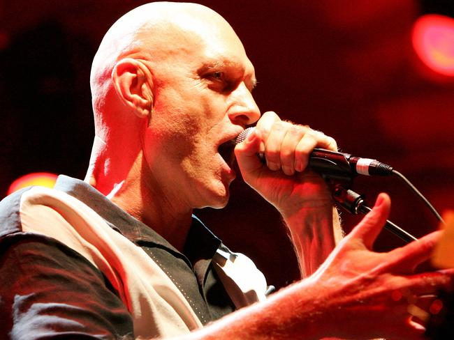 Midnight Oil frontman and politician Peter Garrett is fighting to protect the Great Barrier Reef. Picture: Sergio Dionisio/Getty Images