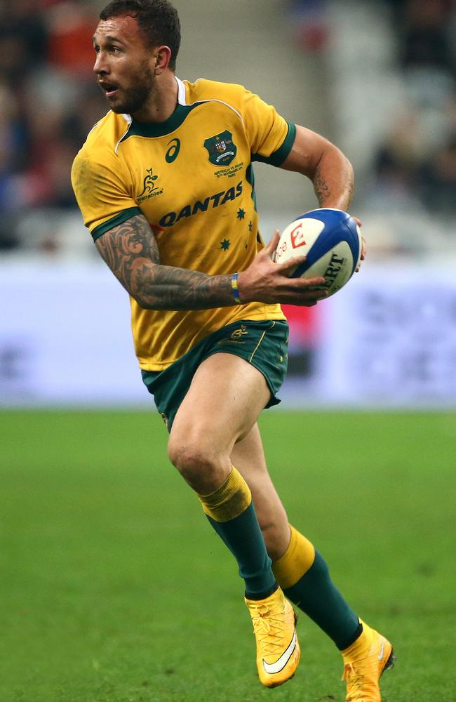 Quade Cooper ready for Rugby World cup trophy with ...
