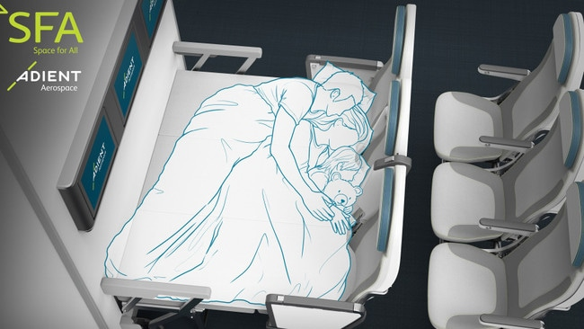 You could be sleeping in a lie-flat bed in economy in future
