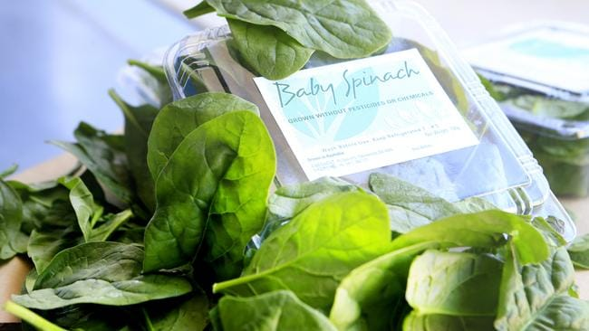 Baby spinach leaves should be a staple in your fridge.