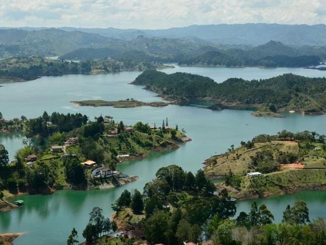 View from the top of El Penol in Colombia. Source: www.sarepa.com