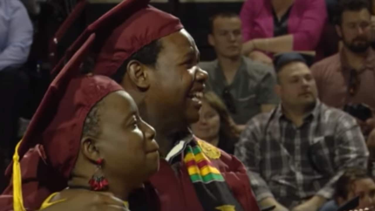 Mom Gets Surprise Conferring at Son's University After Skipping Her Graduation Ceremony to Attend His