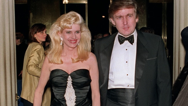 Trump's ex-wife Ivana claimed in divorce court documents in 1990 that he raped her, which she eventually denied. Image: AFP PHOTO / SWERZEY