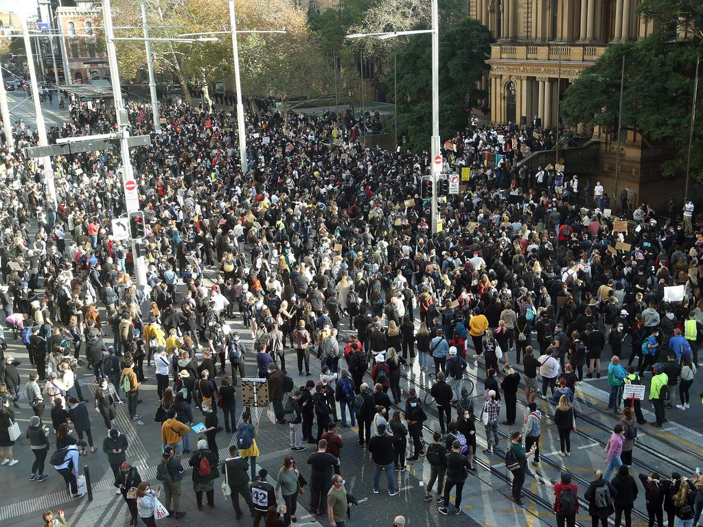 Experts say they'll know in roughly a fortnight whether case numbers spiked after the weekends' protests.