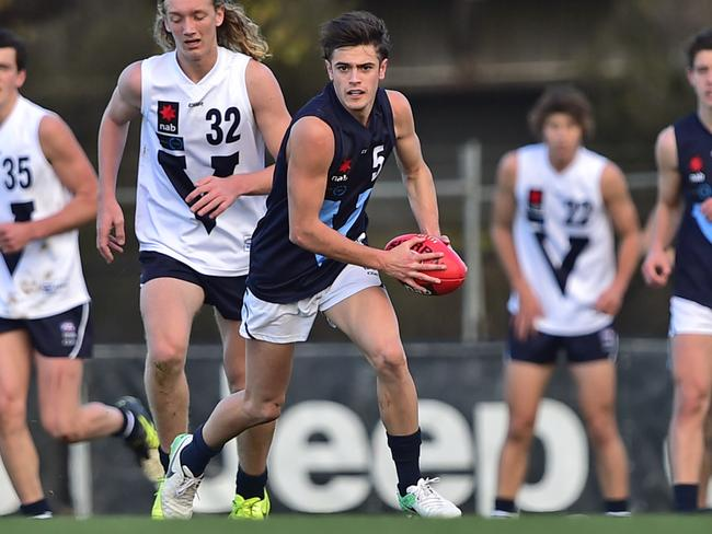A good omen? Naish starred for Vic Metro in a game at Punt Road. Picture: Stephen Harman.