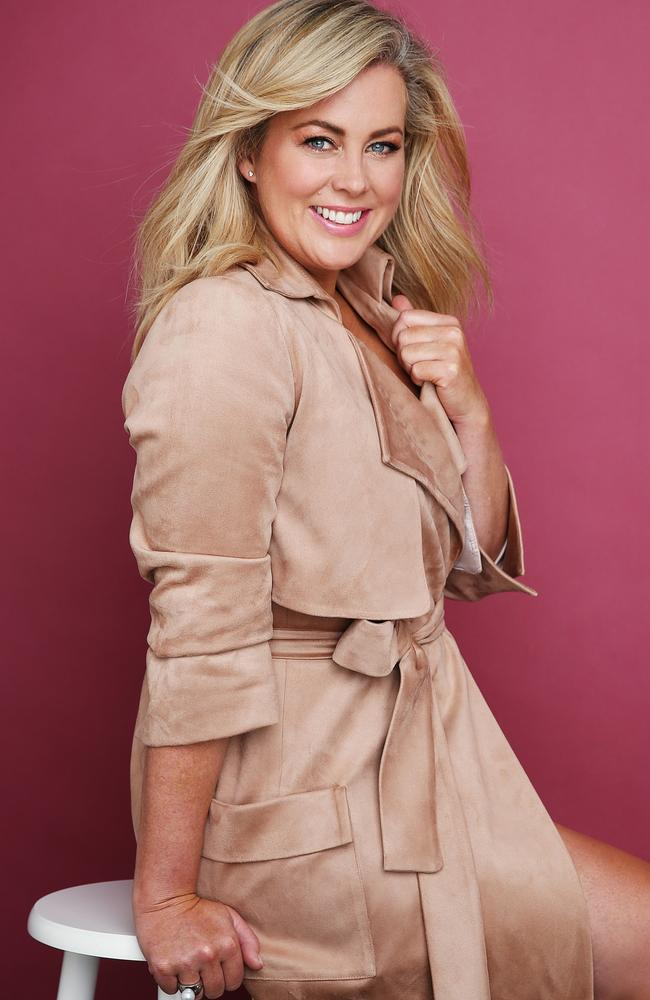Armytage is continuing her fight against romance rumours. Picture: Sam Ruttyn