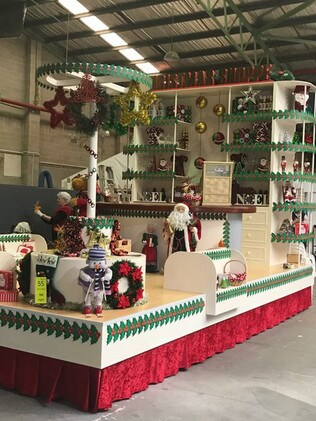 Christmas Shoppe float. Picture: Supplied