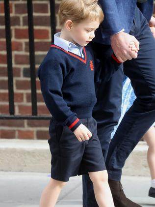 Prince George will be a pageboy. Picture: Chris Jackson/Getty Images.
