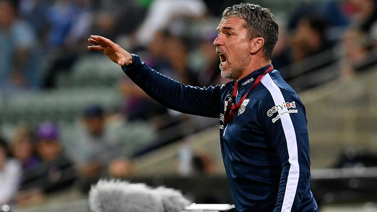 Adelaide v Central Coast: Marco Kurz laments AFLX damage to pitch