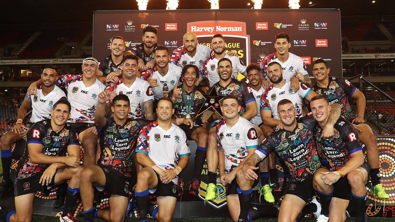 The Indigenous team won the last All Stars game back in 2017 at McDonald Jones Stadium, Newcastle.