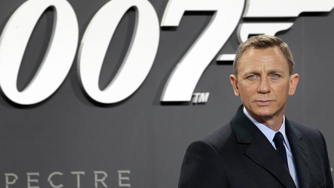 Who will take over as Bond when Daniel Craig steps down? Picture: AP Photo/Michael Sohn