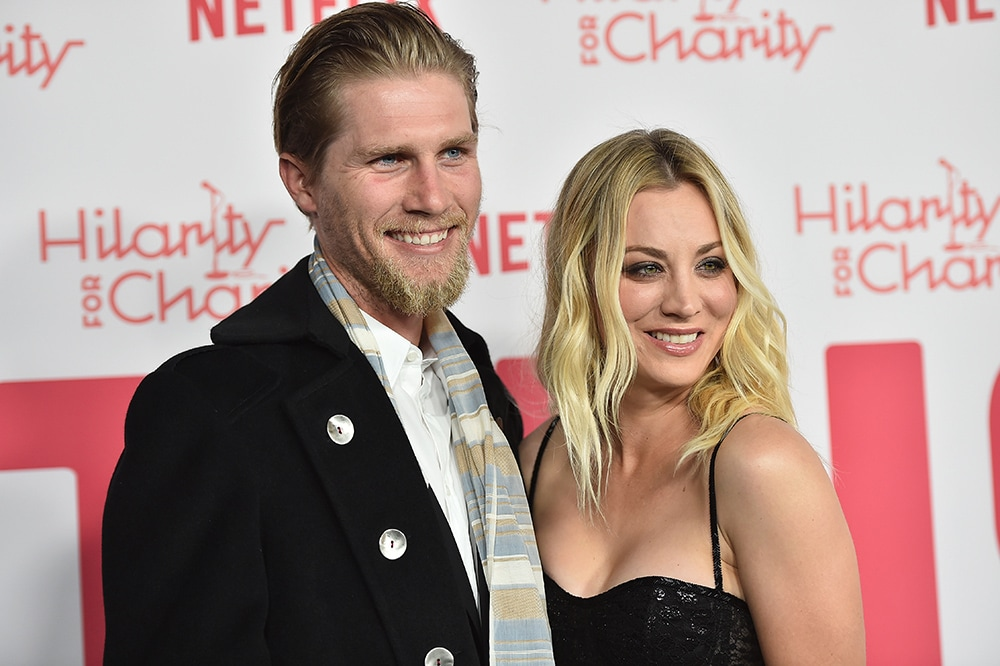 Newlywed Kaley Cuoco spent her honeymoon in hospital