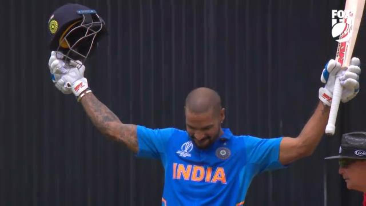 Dhawan tons up