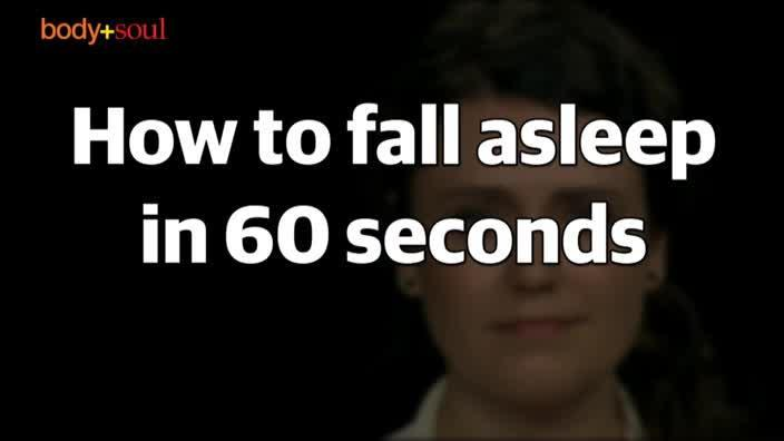 How to fall asleep in 60 seconds