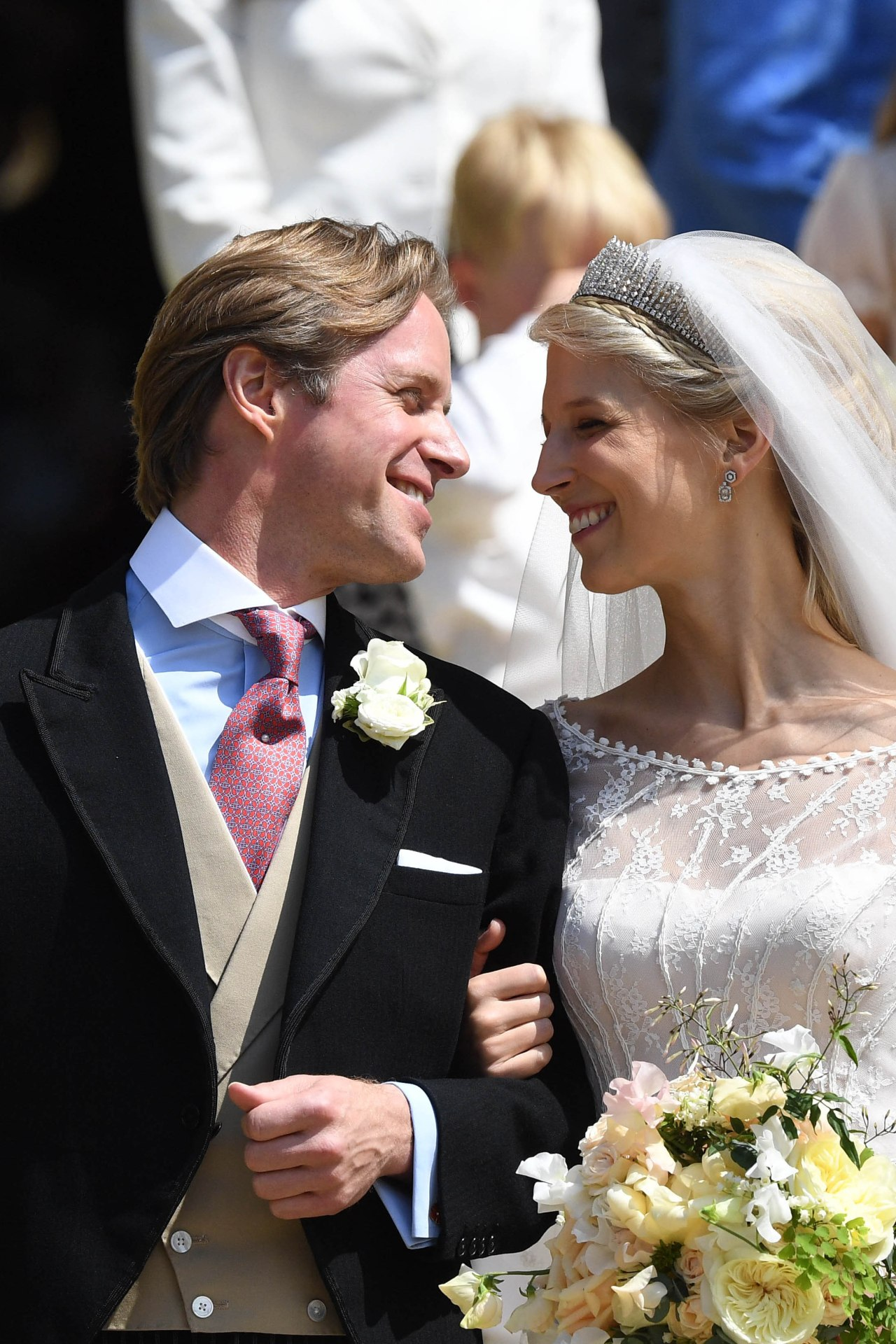 See what the guests wore at Lady Gabriella Windsor's royal wedding
