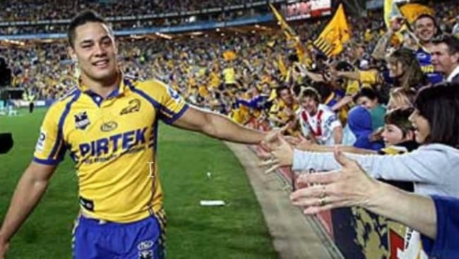 d402342f29d Parramatta Eels fans are filthy with Jarryd Hayne after he broke his  promise to return to