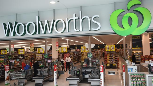 Woolworths has said it is looking at further ways to reduce waste. Picture: AFP/Peter Parks