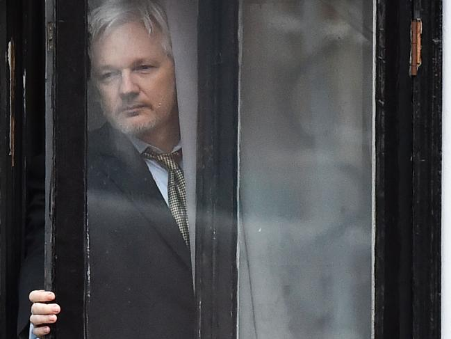Julian Assange must follow a set of 32 rules imposed by Ecuador. Picture: Ben Stansall/AFP