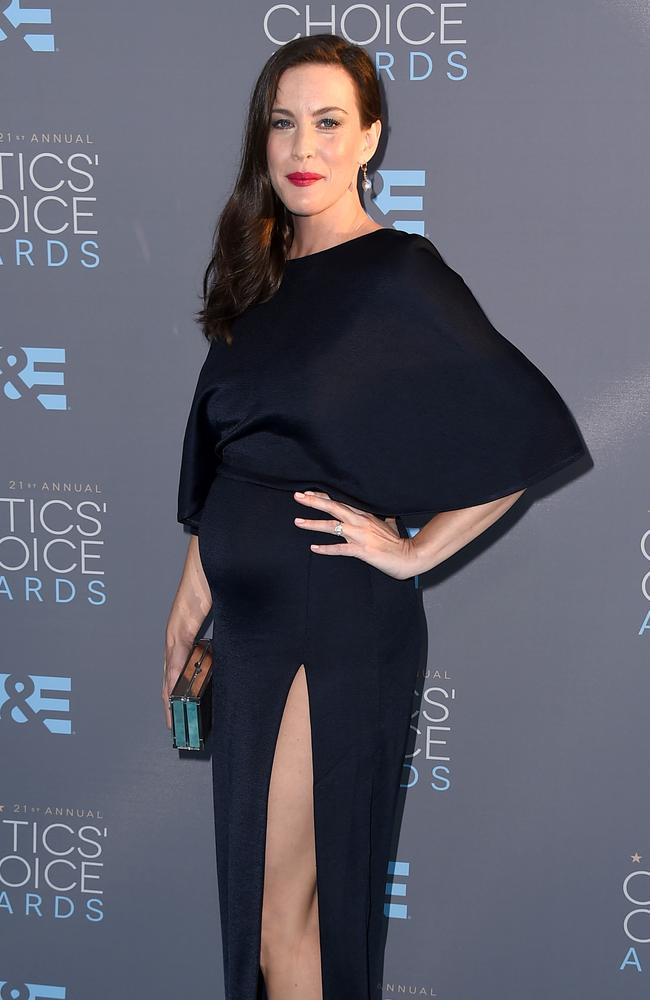 Liv Tyler attends the 21st Annual Critics' Choice Awards on January 17, 2016 in California. Picture: AP