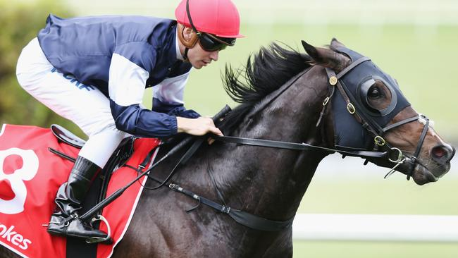 Ben Melham produced a well-judged ride on The Taj Mahal in the Zipping Classic.