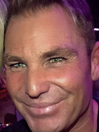 ...and after. Men are more likely to undertake botox in their mid 30s, according to experts. Picture: Shane Warne/Instagram