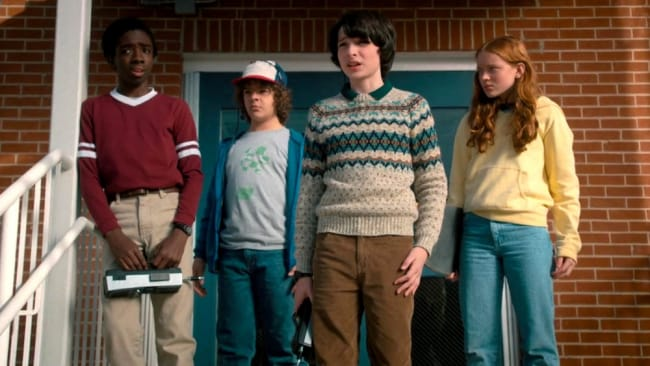 Our kids are growing up. Photo: 'Stranger Things'