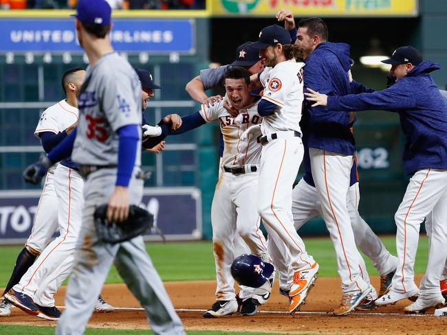 The Astros' 2017 World Series win has been tainted.