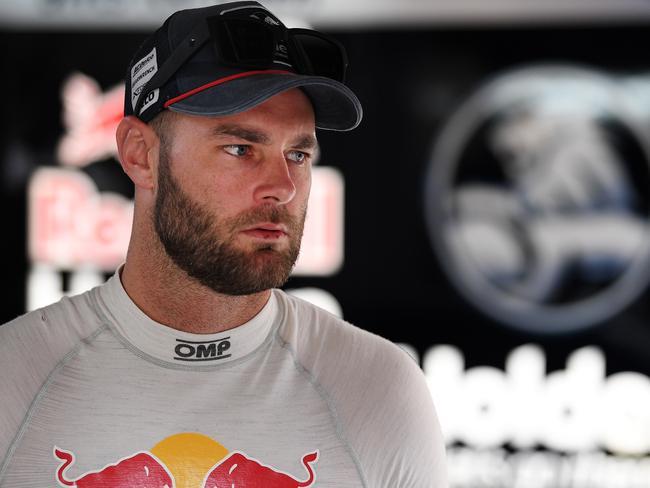 Shane van Gisbergen was not pleased when he learned of the penalty from race 30.