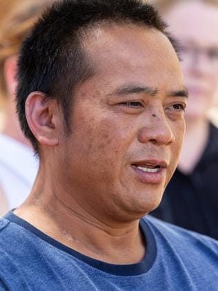Mr Tran was the second member of the group to be found. Picture: Emma Murray
