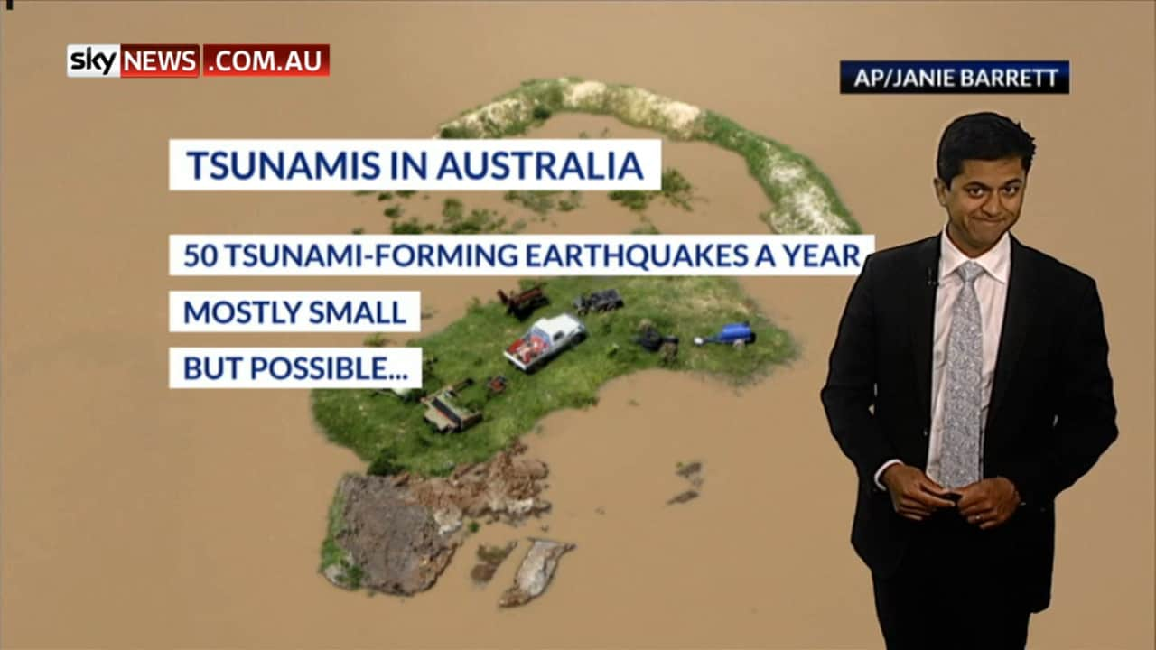 Weather explained: Are tsunamis a risk for Australia?