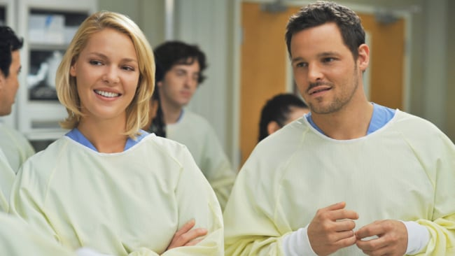 Izzie, played by Katherine Heigl. Image: Getty / ABC