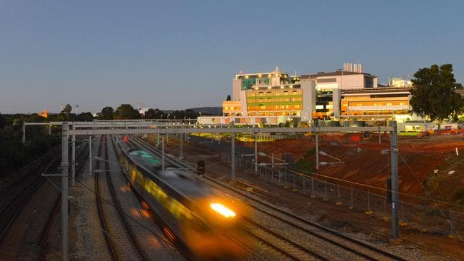 An underground CBD train loop should be part of a public debate. Picture: AAP / Brenton Edwards