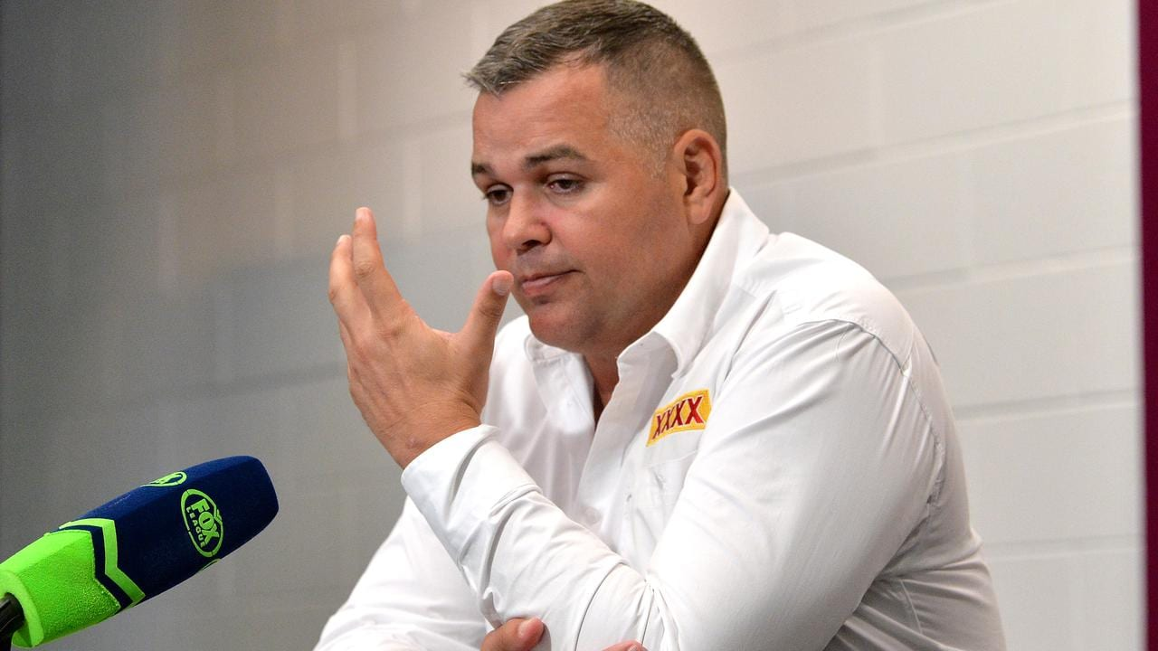 Anthony Seibold is under pressure to change things quickly.