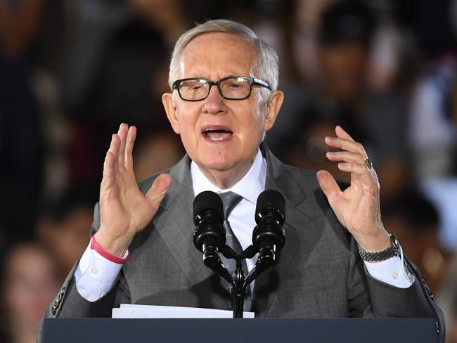 Former senator Harry Reid said the program was one of his proudest achievements. Picture: Ethan Miller
