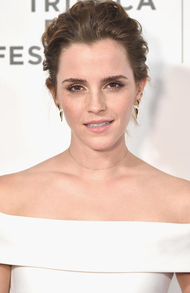 Emma Watson has stepped away from acting. Picture: Getty Images