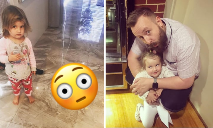 Dad's hilarious morning routine fail is all of us
