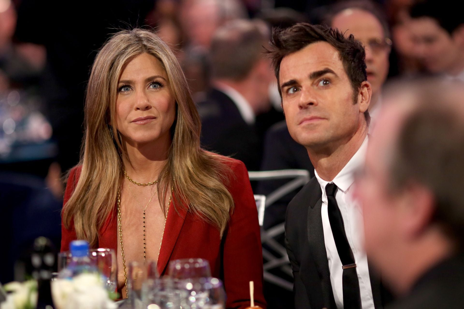 "Justin Theroux described his break-up with Jennifer Aniston as a ""gentle separation"""