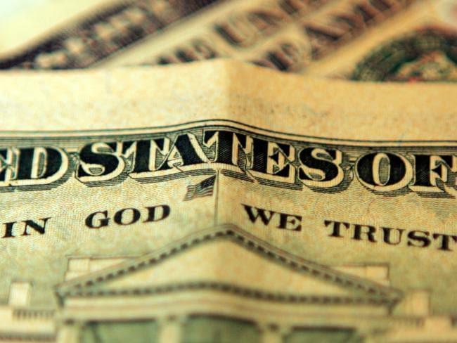 'In God We Trust' ... the American currency is light-on for images of women. Picture: Hugh Pinney/Getty Images