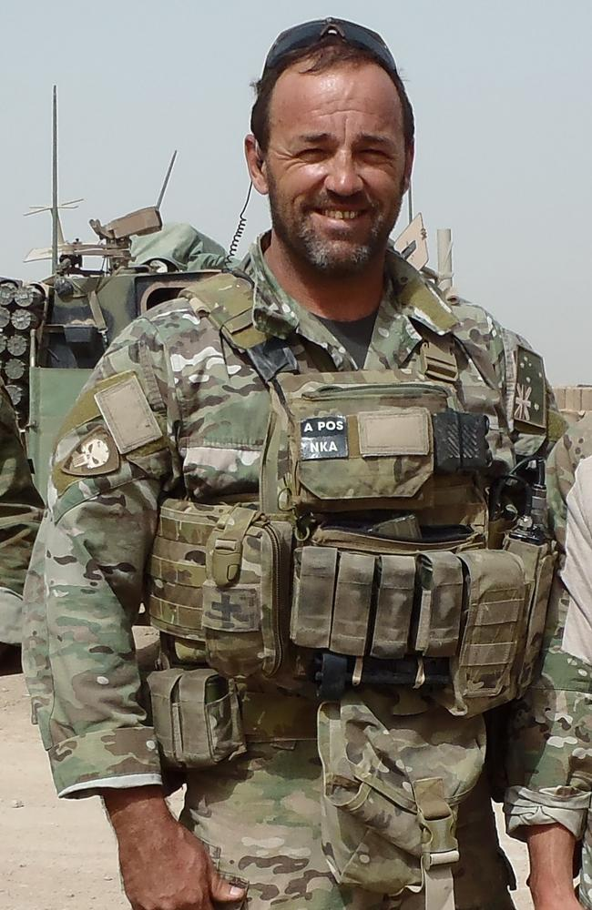 Peter Cafe was an elite commando who was deployed to Afghanistan, Iraq and East Timor.
