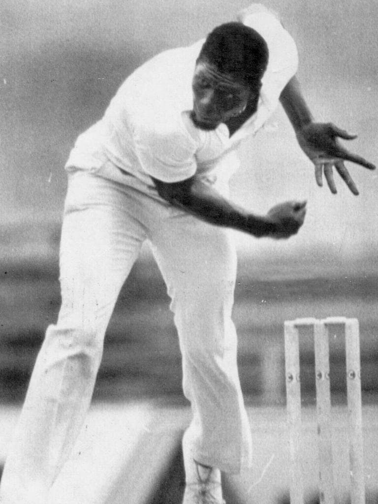 Joel Garner, a devastating West Indies bowler who was feared by all (kids, ask your parents)