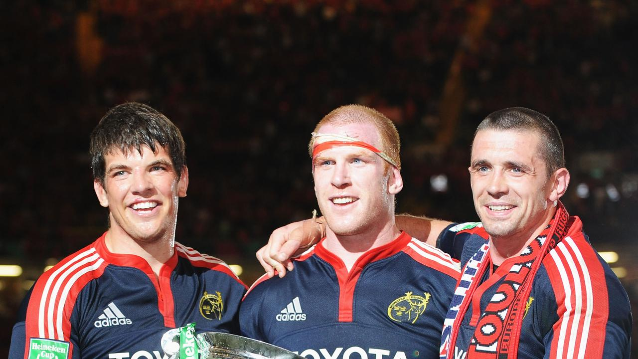 Donncha O'Callaghan, Paul O'Connell and Alan Quinlan kicked off Munster's dominance as a powerhouse of European rugby union