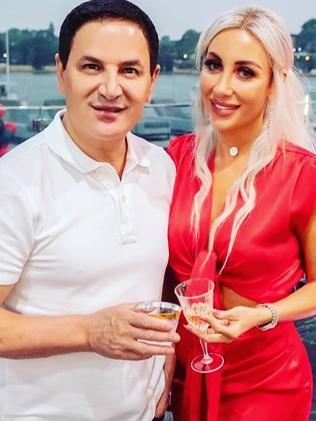 Jean Nassif with is model/actor wife Nissy Nassif. Picture: Instagram