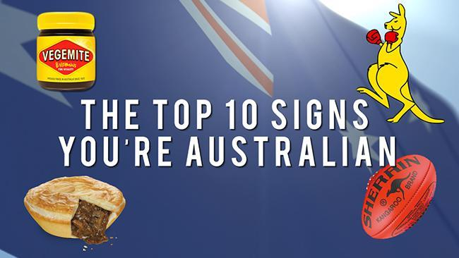 The Top Ten Signs You're Australian