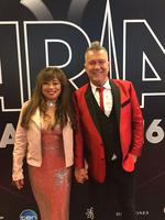 "The 2016 ARIA Awards via social media ... Jimmy Barnes, ""Red carpet, red jacket, maybe red eyes tomorrow."" Picture: Instagram"
